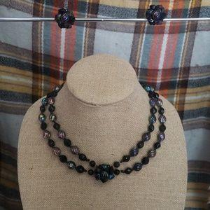 Jewelry - Vintage west germany aurora borealis costume set